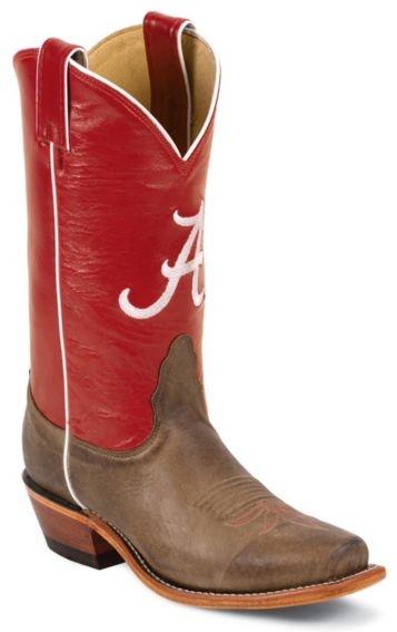 Nocona Women's University of Alabama College Boots - Snip - Sheplers