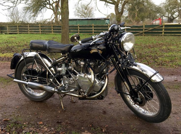 1952 Vincent Black Shadow Series C For Sale - We Sell Classic Bikes