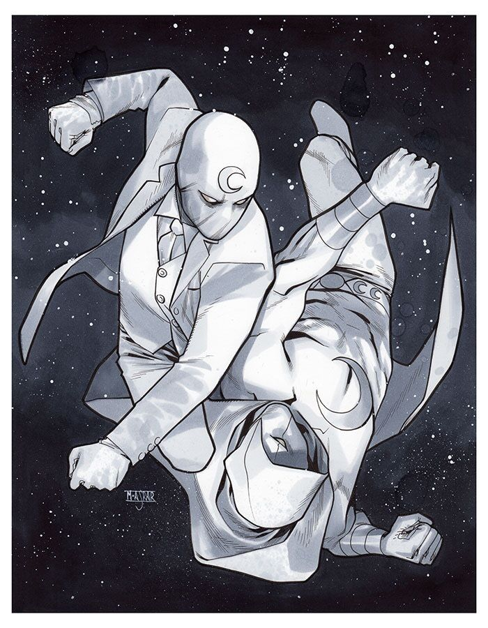 Moon Knight vs Moon Knight - MEFCC 2015 Pre-Show Commission