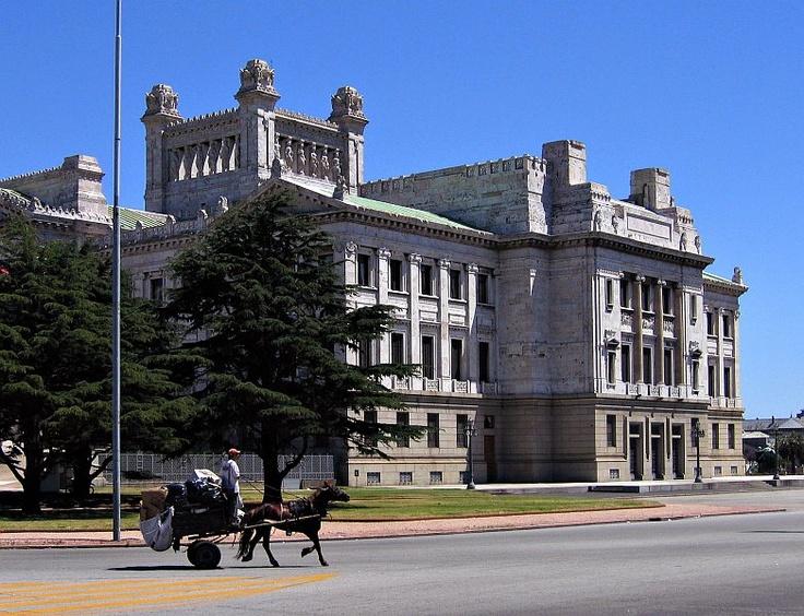 Montevideo - Legislative palace.
