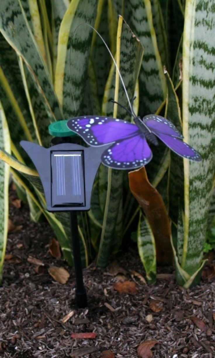 solar fluttering butterfly or dragonfly add these solar powered flickering butterflies to your landscape or