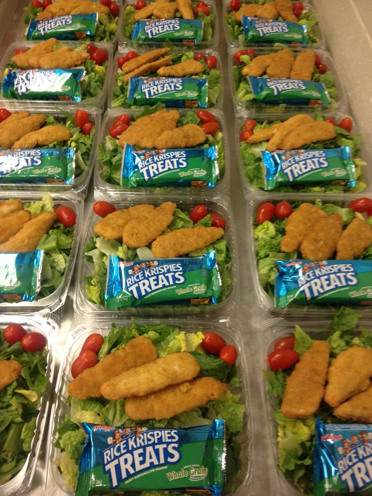 Crispy Chicken Salad at the High School                                                                                                                                                     More
