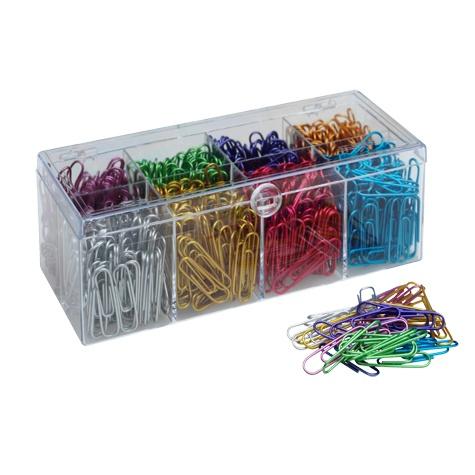 Metallic paper clips
