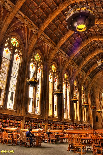 Suzzallo Library HDR University of Washington | Flickr - Photo Sharing!