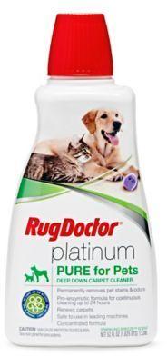 Rug Doctor®️️ 52 oz. Platinum Pure Pet Formula Carpe…#Affiliate Link