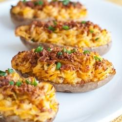 Twice Baked Potatoes by AFamilyFeast
