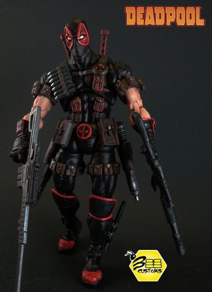 This Custom Deadpool action figure is just another in a long line of highly detailed figures from Bee Customs.