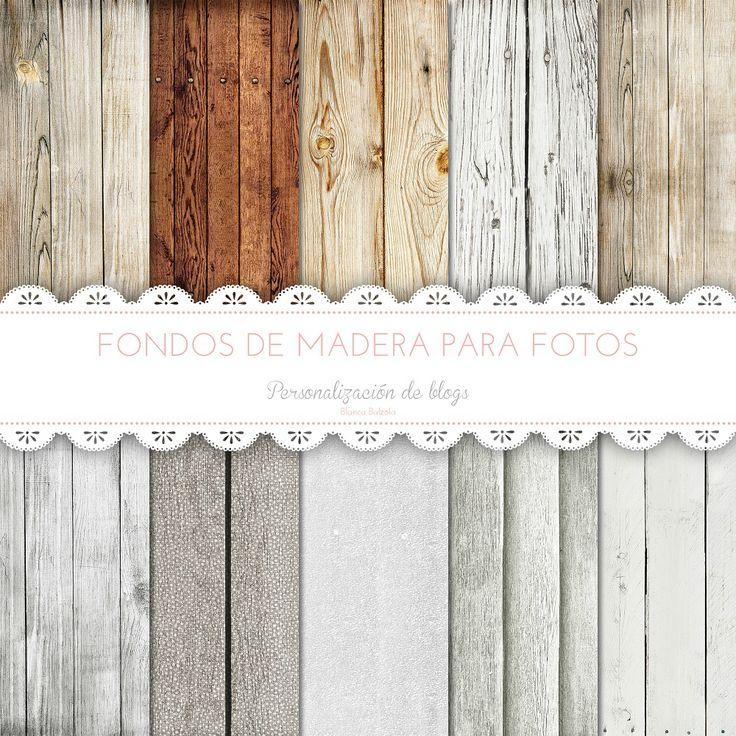 Fondos de madera para fotos imprimibles gratis