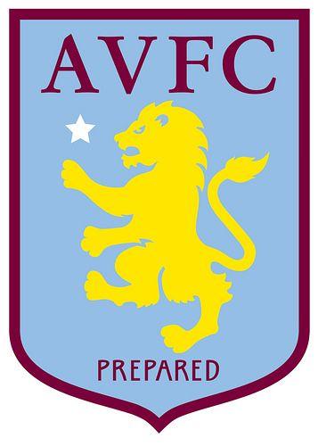 Aston Villa Football Club   Country: England, United Kingdom. País: Inglaterra, Reino Unido.   Founded/Fundado: 1874/03   Badge/Escudo