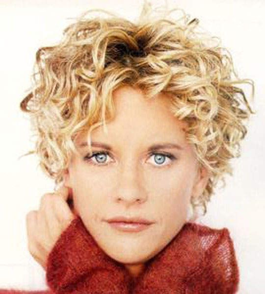 Meg Ryan Short Curly Hairstyles