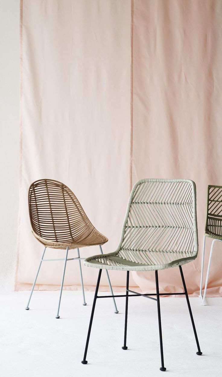 It was only a matter of time before the Rattan Chair would make a comeback.