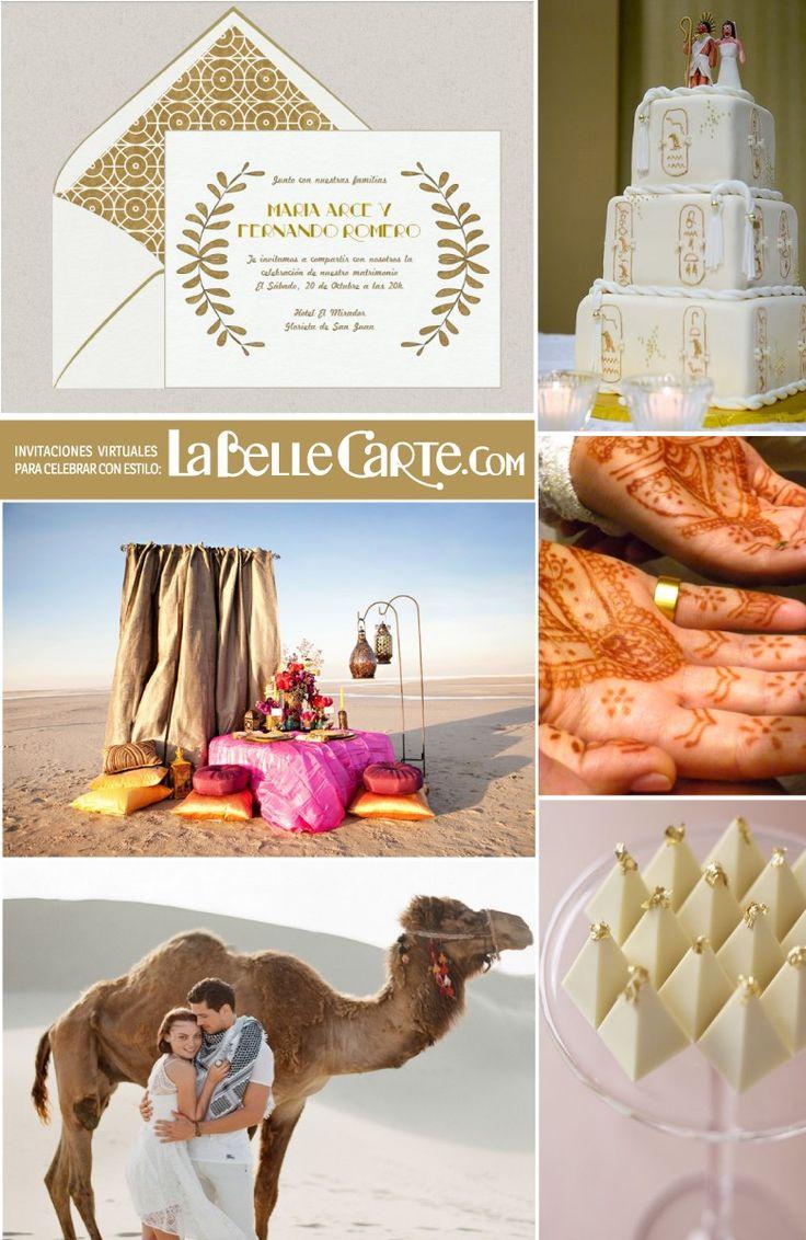 Labellecarte Online Wedding Invitations Cards Ideas Egypt Theme
