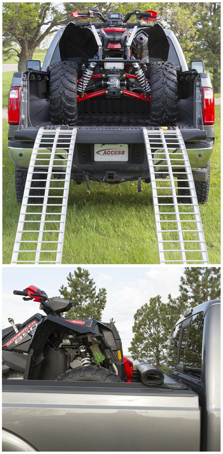 folding tonneau covers can limit cargo capacity so if you want to move an atv in your pickup. Black Bedroom Furniture Sets. Home Design Ideas