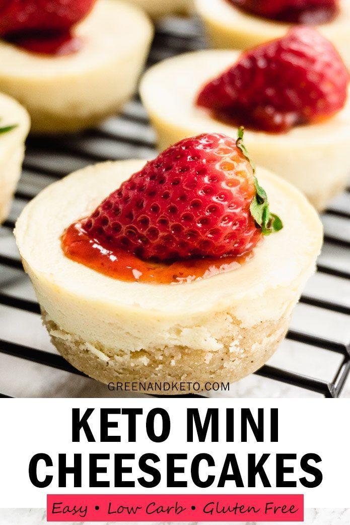 Diese kohlenhydratarmen Mini-Cheesecake-Häppchen sind vielleicht mein Lieblingsketo …