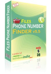 The File Phone Number Finder is effective Phone Extractor software which can extract numbers from different document files. It can extract numbers from text file like doc, docx, dot, xls, xlsx, html, etc. It can extract phone numbers from different files which meets the search criteria in the most efficient manner. The Phone Extractor can automatically remove any duplicated phone numbers.