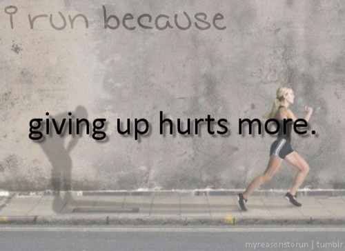 My mentality during the 6 miler today.