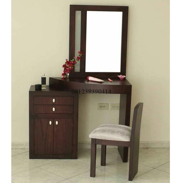 Meja Rias Minimalis Model Terkini Adalah Furniture Meja