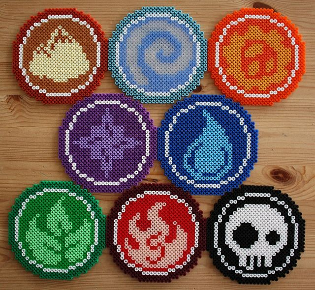 skylanders perler bead designs pyssla patterns ideas