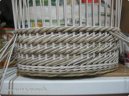 Поделка изделие Декупаж Плетение Постигаем новое подсказки Картон Салфетки Трубочки бумажные фото 2