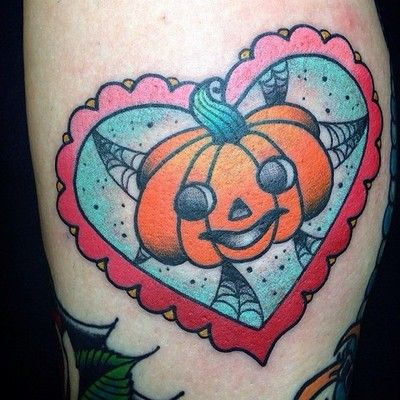 halloween tattoo by alex strangler