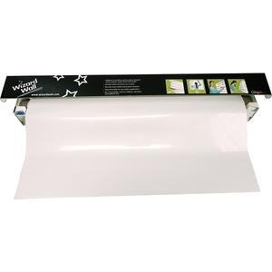 "Portable Whiteboard Film - 27 1/2""W x 25'L - One Roll"