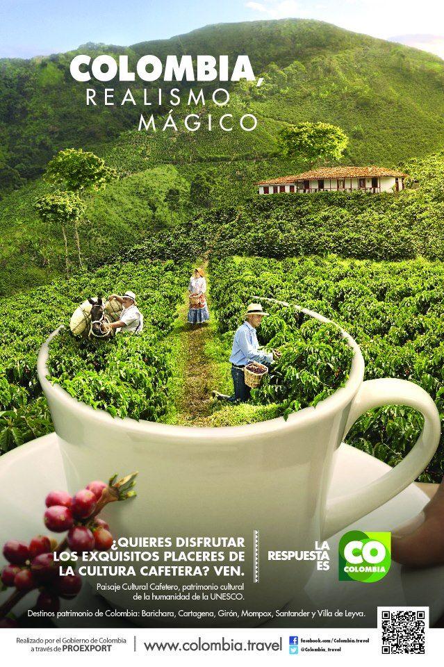 Nueva campaña sobre Colombia, homenaje a 'gabo' y su 'Realismo mágico' [+ Videos]