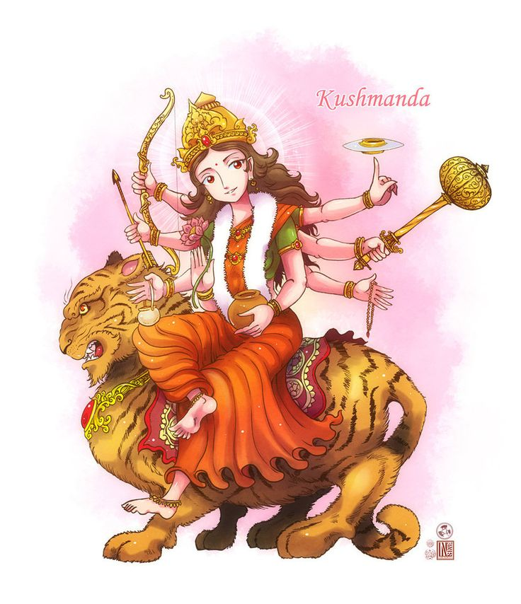 Kushmanda mata by In-Sine on DeviantArt