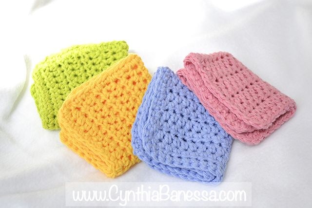 Crocheting Dish Rags : Cynthia Banessa Beautiful Crochet Dish Towels http ...