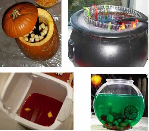 halloween drinks - Halloween Punch Bowl Recipes