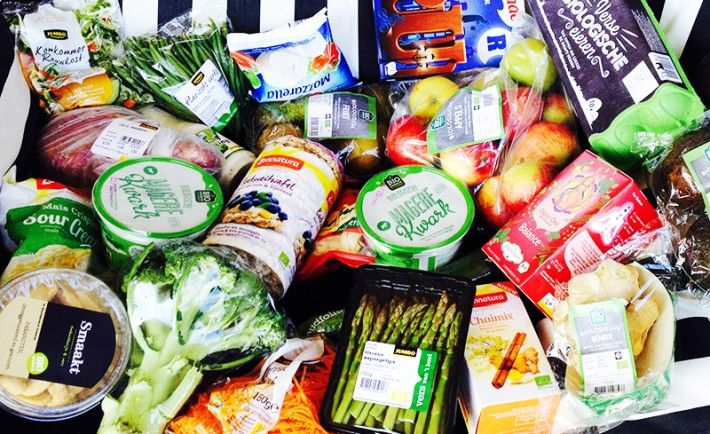 random gezonde boodschappen floor van boxtel, gezonde boodschappen bij de Jumbo.