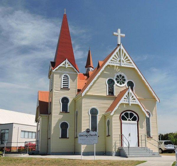 #Penguin Uniting #Church #Tasmania, photo by Dan Fellow, article for think-tasmania.com