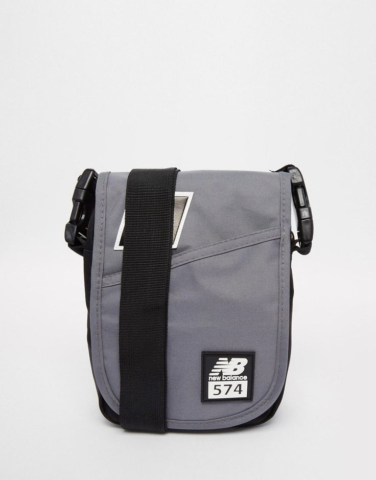 Mega cool New Balance 574 Flight Bag - Grey New Balance Accessories til Herrer i lækker kvalitet
