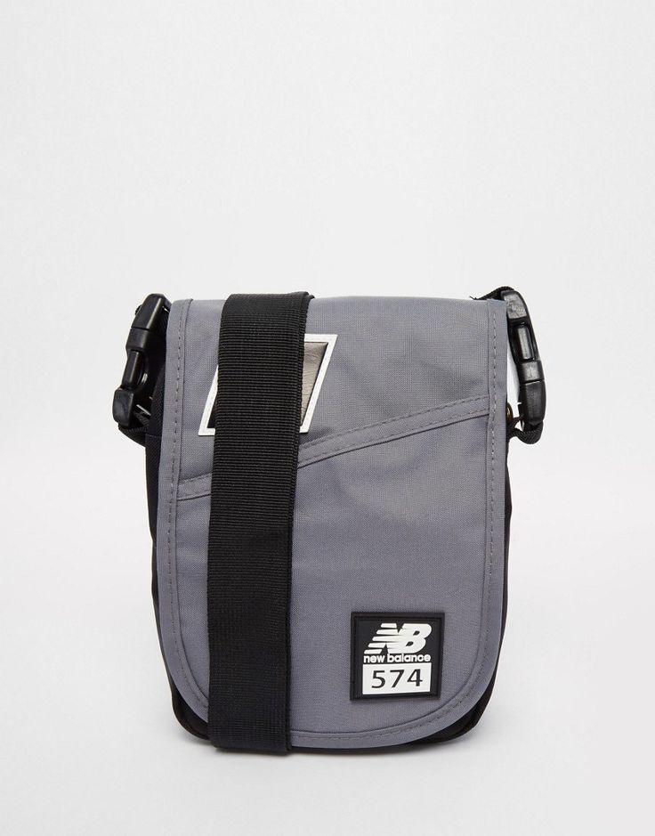 Mega cool New Balance 574 Flight Bag - Grey New Balance Accessories til Herrer i lækker kvalitet