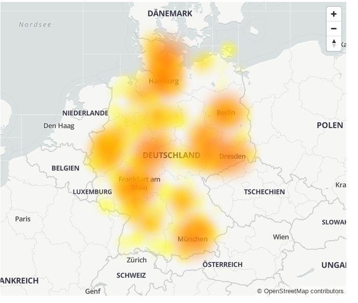 Vodafone Störungen