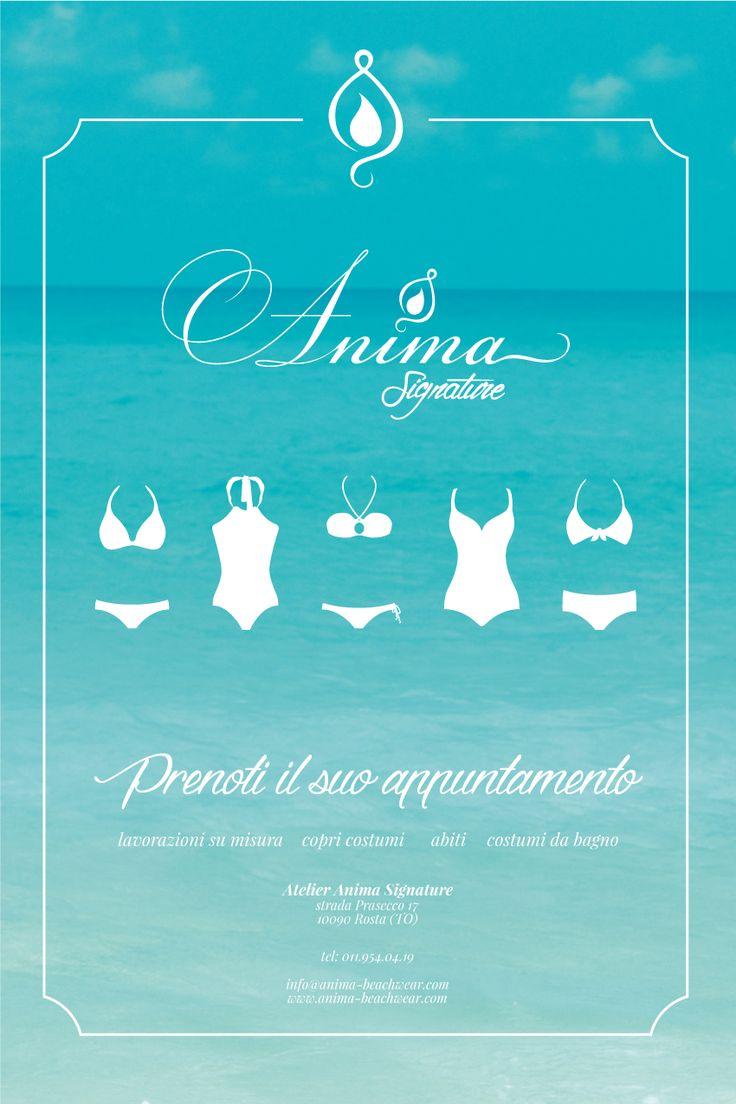#AnimaBeachwear crea costumi da bagno su misura, abiti e copri costumi! Prenota il tuo appuntamento o chiamaci per avere informazioni.