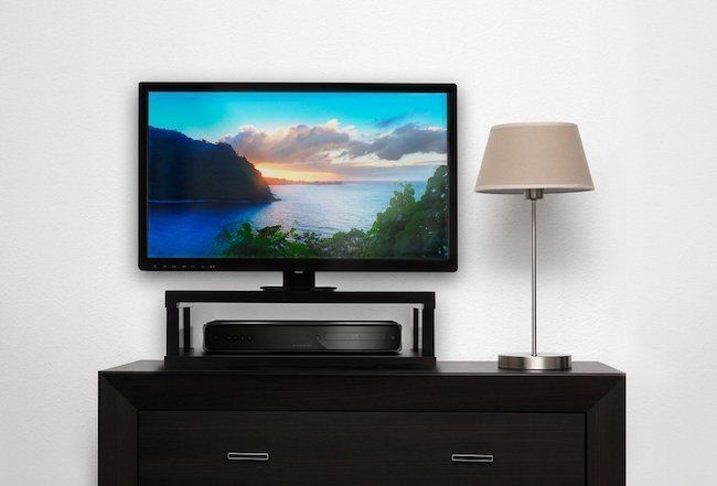 TV Stand Smart Stands For Flat Screens Swivel 360 Degree Rotate Holds to 132lbs #Aleratec #Modern