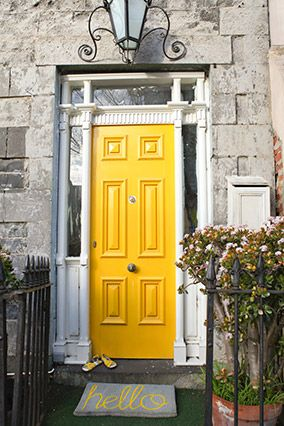 10 of the Prettiest Front Doors    Pick any one of these ideas (or use a combination of them) to boost your curb appeal in no time.