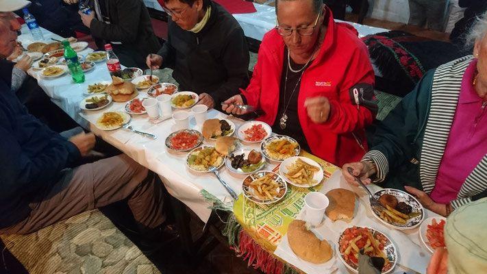 Marokko Marktplatz Restaurants Imbiss   Morocco market place  restaurant snack place