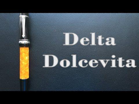 Review of the Delta Dolcevita Stantuffo Federico fountain pen figbootonpens@gmail.com