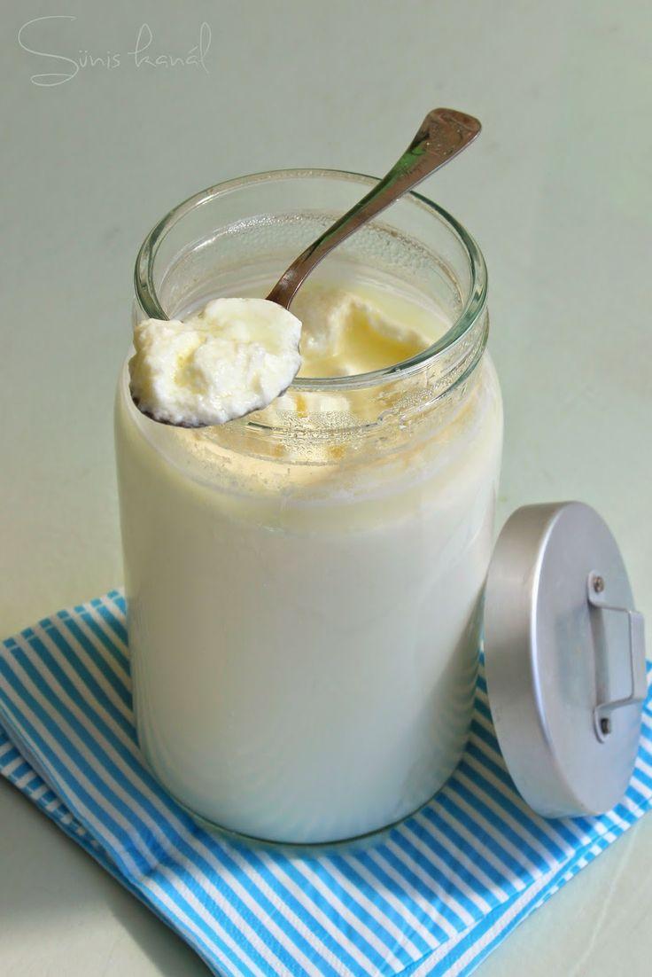 Joghurt házilag - Sünis kanál
