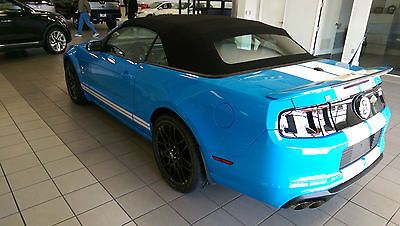 2014 Ford Mustang Shelby Gt500 Convertible - Grabber Blue - Used Ford Mustang for sale in Knoxville, Tennessee | autoquid.com