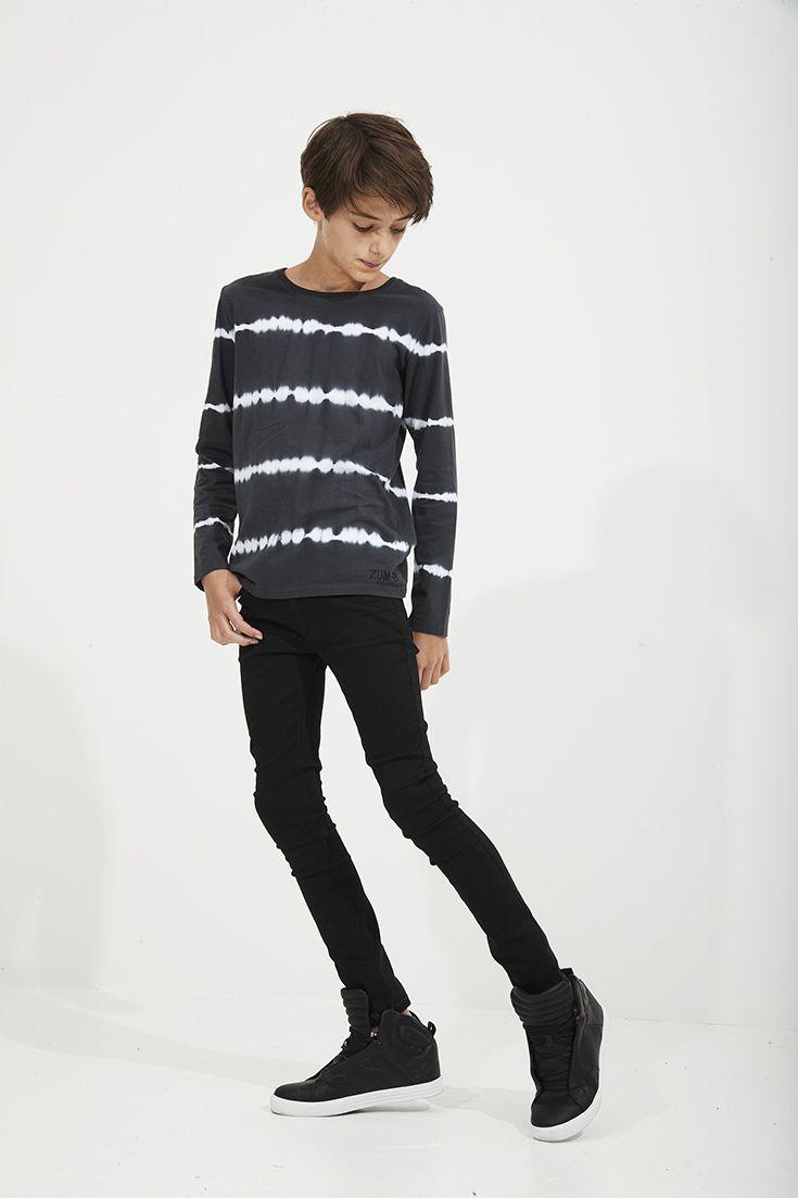 boy Skinny black teen
