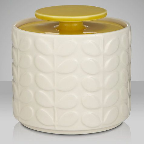 Happiness is orla kiely home ware. Orla Kiely Raised Stem Ceramic Kitchen Storage Jar
