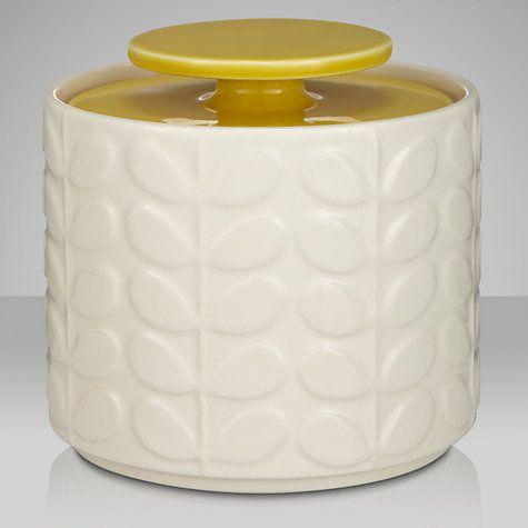 Happiness is orla kiely home ware. Orla Kiely Raised Stem Ceramic Kitchen Storage Jar
