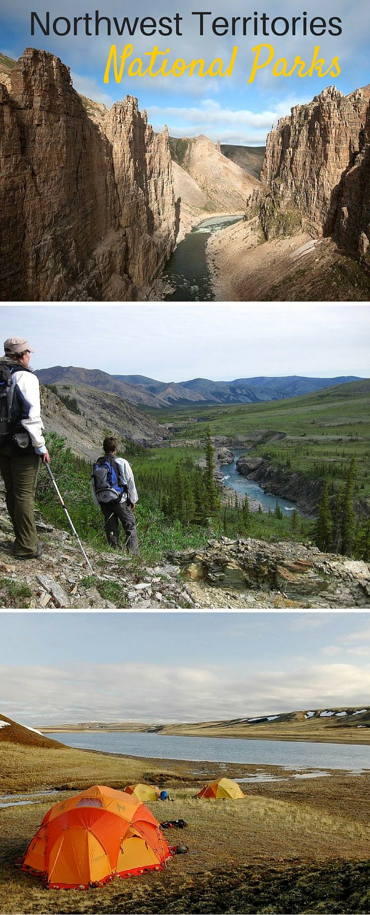 Canada's north comes alive when you visit one of these Northwest Territories national parks.