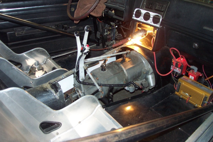 Chevy Malibu project with a Lenco CS1 3 speed transmission ...