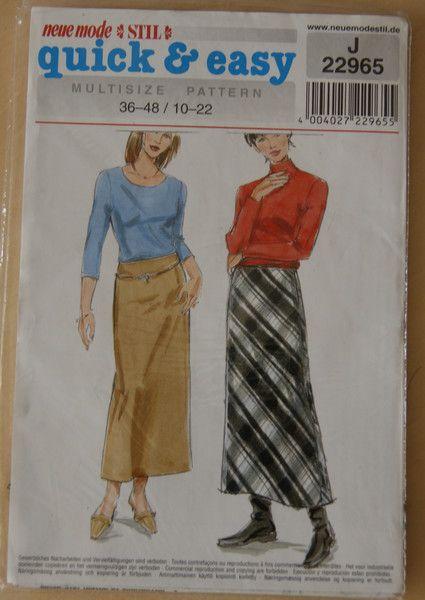 Neue Mode Schnitt quick & easy original verpackt von mamafriedasmachBar auf DaWanda.com