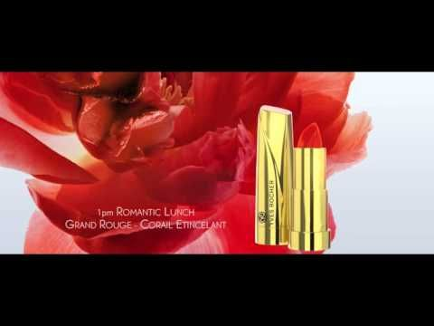 Discover the Grand Rouge Moments! @Yves Rocher USA #GrandRougeMoment  #yvesrocher