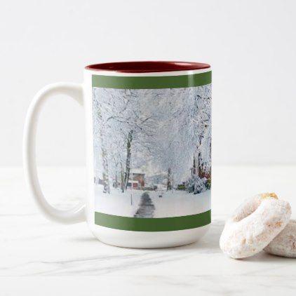 CUSTOM CHRISTMAS COFFEE MUG WITH PHOTO - coffee custom unique special