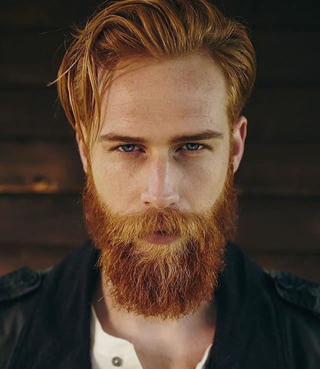 Gwilym C Pugh by Adam Fussell #beardedginger